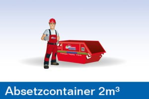 Container - Absetzcontainer 2m³