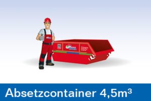Container - Absetzcontainer 4,5m³